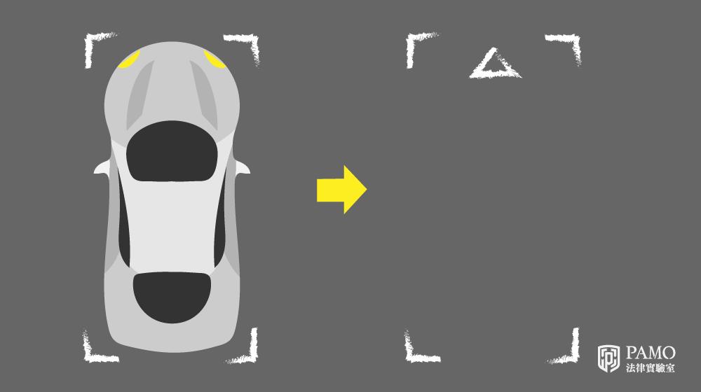 車禍移車前,須先標繪車輛,汽車標繪方式